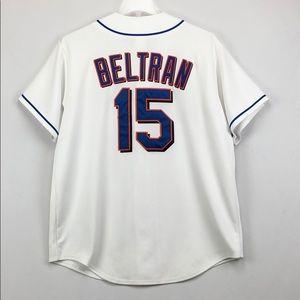 New York Mets Carlos Beltran Majestic Jersey XL